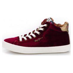 Pepe Jeans Damskie Tenisówki  Pls30768_Aw18 38 Burgund. Czerwone trampki i tenisówki damskie Pepe Jeans, z jeansu. Za 366.00 zł.