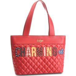 Torebka LOVE MOSCHINO - JC4224PP06KC0500 Rosso. Czerwone torebki do ręki damskie Love Moschino, ze skóry ekologicznej. Za 929.00 zł.
