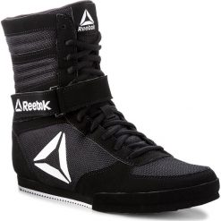 Buty Reebok - Boxing Boot-Buck CN4942 Black/White. Czarne obuwie sportowe damskie Reebok, z materiału. W wyprzedaży za 299.00 zł.