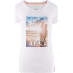 Outhorn Koszulka damska HOL18-TSD617 biała r. XS. T-shirty damskie Outhorn. Za 24.99 zł.