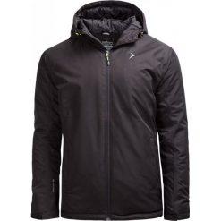 Kurtka narciarska męska KUMN600 - CZARNY - Outhorn. Czarne kurtki męskie Outhorn, na jesień, z materiału. W wyprzedaży za 160.99 zł.