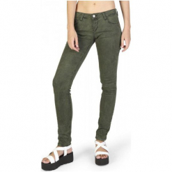 Guess Jeansy Damskie 29 Khaki. Brązowe jeansy damskie Guess. W wyprzedaży za 349.00 zł.