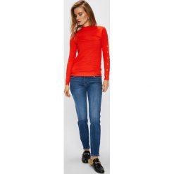Guess Jeans - Jeansy Marilyn 3 Zip. Niebieskie jeansy damskie Guess Jeans. W wyprzedaży za 319.90 zł.