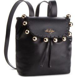 Plecak LOVE MOSCHINO - JC4078PP17LI0000 Nero. Czarne plecaki damskie Love Moschino, ze skóry ekologicznej. Za 959.00 zł.