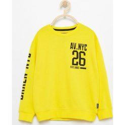Bluza z nadrukiem - Żółty. Bluzy dla chłopców marki Pollena Savona. Za 39.99 zł.
