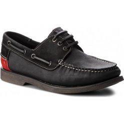 Mokasyny TOMMY JEANS - Winter B EM0EM00158 Black 990. Czarne mokasyny męskie Tommy Jeans, z jeansu. W wyprzedaży za 309.00 zł.