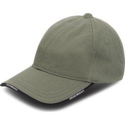 Czapka z daszkiem EMPORIO ARMANI - 627502 8A552 00084  Military Green. Zielone czapki i kapelusze damskie Emporio Armani, z materiału. W wyprzedaży za 169.00 zł.