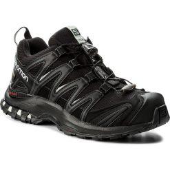 Buty SALOMON - Xa Pro 3D Gtx GORE-TEX 393329 20 V0 Black/Black/Mineral Grey. Czarne obuwie sportowe damskie Salomon, z gore-texu. W wyprzedaży za 449.00 zł.