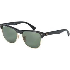 Ray-Ban - Okulary Clubmaster Oversized. Okulary przeciwsłoneczne męskie Ray-Ban, z materiału. W wyprzedaży za 399.90 zł.