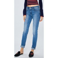 Levi's - Jeansy 711. Brązowe jeansy damskie Levi's. Za 399.90 zł.