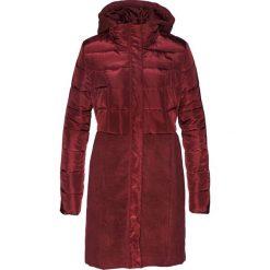 Płaszcz pikowany bonprix czerwony klonowy. Płaszcze damskie marki FOUGANZA. Za 169.99 zł.