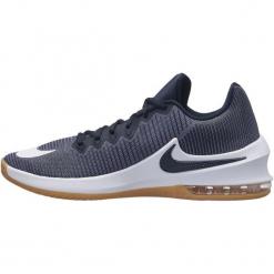 Nike Buty Air Max Infuriate 2 Low Basketball Shoe/Light Carbon/White-Dark Obsidian 42,5. Białe buty sportowe męskie Nike. W wyprzedaży za 259.00 zł.