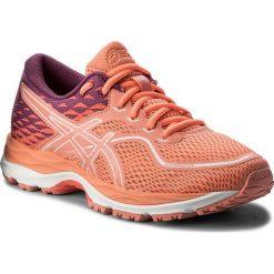 Buty ASICS - Gel-Cumulus 19 Gs C742N  Begonia Pink/Baton Rouge 0606. Brązowe obuwie sportowe damskie Asics, z materiału. W wyprzedaży za 199.00 zł.