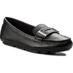 Mokasyny CALVIN KLEIN - Luna E6638  Black. Czarne mokasyny damskie Calvin Klein, ze skóry. W wyprzedaży za 429.00 zł.