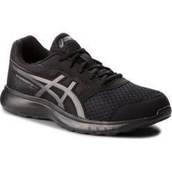 Buty ASICS - Stormer 2 T843N Black/Black 001. Czarne buty sportowe męskie Asics, z materiału. W wyprzedaży za 169.00 zł.