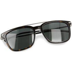 Okulary przeciwsłoneczne BOSS - 0930/S Dark Havana 086. Brązowe okulary przeciwsłoneczne damskie Boss, z tworzywa sztucznego. W wyprzedaży za 529.00 zł.