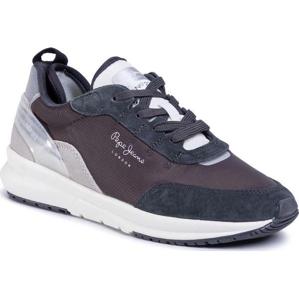 Szare Sneakersy damskie Pepe Jeans wygodne, modne i