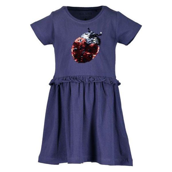 ac9ff5d2dd Blue Seven Sukienka Dziewczęca Z Cekinami 92 Niebieska - Sukienki ...