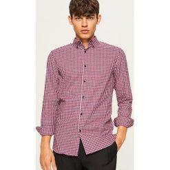 Koszula w kratkę slim fit - Czerwony. Koszule męskie marki Giacomo Conti. W wyprzedaży za 59.99 zł.