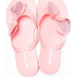 Zaxy - Japonki. Różowe klapki damskie Zaxy, z gumy. W wyprzedaży za 69.90 zł.