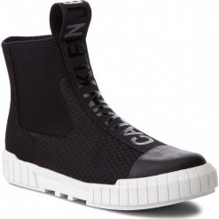 Trampki CALVIN KLEIN JEANS - Bardo S1738 Black. Czarne trampki męskie Calvin Klein Jeans, z gumy. Za 619.00 zł.