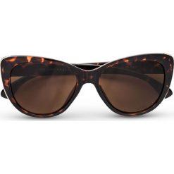"""Okulary przeciwsłoneczne """"Cateye"""" bonprix brązowy. Okulary przeciwsłoneczne damskie marki QUECHUA. Za 37.99 zł."""
