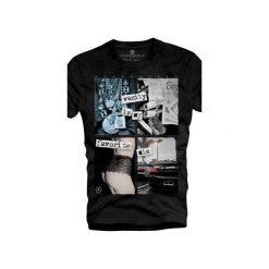 T-shirt UNDERWORLD Organic Cotton Vanity. Czarne t-shirty męskie Underworld, z nadrukiem, z bawełny. Za 69.99 zł.
