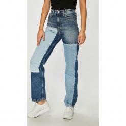 Calvin Klein Jeans - Jeansy. Niebieskie jeansy damskie Calvin Klein Jeans. Za 599.90 zł.