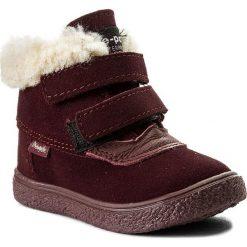 Śniegowce MRUGAŁA - Hill 7118-50 Plum. Buty zimowe dziewczęce Mrugała, z materiału. W wyprzedaży za 149.00 zł.