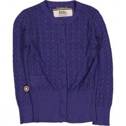 """Kardigan """"Shed My Skin"""" w kolorze fioletowym. Swetry dla dziewczynek marki bonprix. W wyprzedaży za 122.95 zł."""