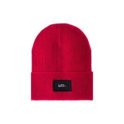 Czapka Beanie Red. Czerwone czapki i kapelusze damskie Harp team, z dzianiny. Za 49.00 zł.