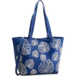 Torebka DESIGUAL - 18SAXPB3 5000. Niebieskie torebki do ręki damskie Desigual, z materiału. W wyprzedaży za 229.00 zł.
