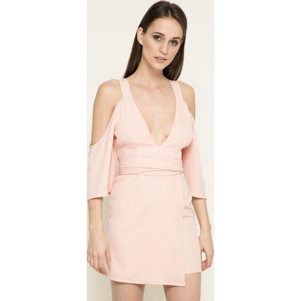 813e30b023640b Missguided - Sukienka - Szare sukienki damskie marki Missguided, z ...
