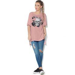 Colour Pleasure Koszulka CP-033  230 różowa r. uniwersalny. Bluzki damskie marki Colour Pleasure. Za 76.57 zł.