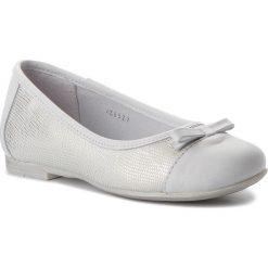 Baleriny RENBUT - 33-4295 Biały. Baleriny dziewczęce RenBut, ze skóry. W wyprzedaży za 159.00 zł.