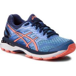 Buty ASICS - Gt-2000 5 (2A) T760N Regatta Blue/Flash Coral/Indigo Blue 4006. Niebieskie obuwie sportowe damskie Asics, z materiału. W wyprzedaży za 289.00 zł.