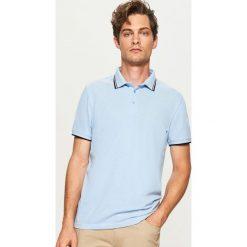 Koszulka polo - Niebieski. Koszulki polo męskie marki bonprix. W wyprzedaży za 49.99 zł.