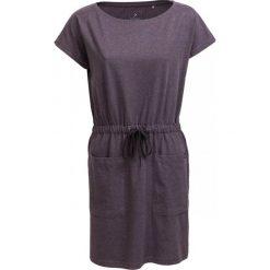 Sukienka SUDD600 - ciemny szary melanż - Outhorn. Szare sukienki damskie Outhorn, na lato, melanż, z bawełny, sportowe. W wyprzedaży za 54.99 zł.