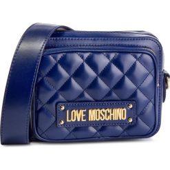 Torebka LOVE MOSCHINO - JC4004PP17LA0750 Blu. Niebieskie listonoszki damskie Love Moschino, ze skóry ekologicznej. Za 719.00 zł.