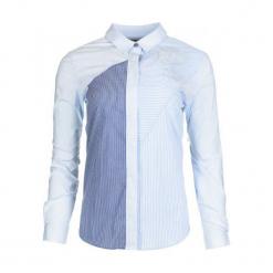 Desigual Koszula Damska Ingun Xl Jasnoniebieski. Szare koszule damskie Desigual. W wyprzedaży za 203.00 zł.