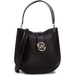 Torebka MICHAEL MICHAEL KORS - Lillie 30F8G0LM2N Black. Czarne torebki do ręki damskie MICHAEL Michael Kors, ze skóry. Za 1,629.00 zł.