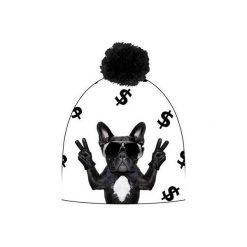 Czapka hauer DOLLAR DOG. Białe czapki i kapelusze damskie Hauer, z polaru. Za 69.00 zł.