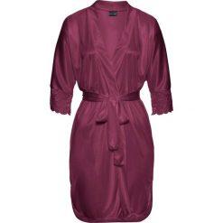 Szlafrok kimono bonprix jeżynowy. Szlafroki damskie marki NABAIJI. Za 89.99 zł.