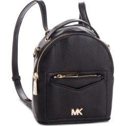 Plecak MICHAEL MICHAEL KORS - Jessa 30T8GEVB0L  Black. Czarne plecaki damskie MICHAEL Michael Kors, ze skóry. Za 989.00 zł.