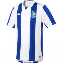Koszulka FC Porto Home Kit. Szare koszulki sportowe męskie New Balance, na jesień, z materiału. W wyprzedaży za 99.99 zł.