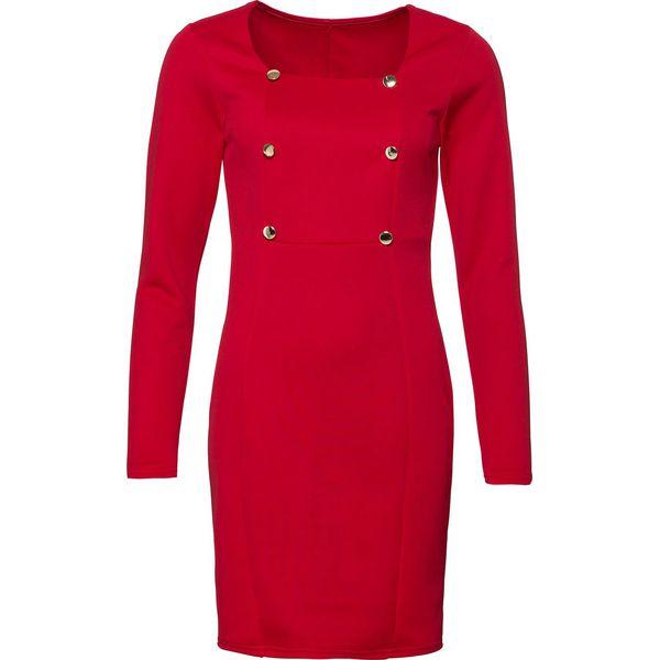 d579b9e6b6 Sukienka biznesowa bonprix czerwony - Czerwone sukienki damskie ...