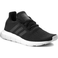 Buty adidas - Swift Run B37726 Cblack/Cblack/Ftwwht. Czarne buty sportowe męskie Adidas, z materiału. W wyprzedaży za 269.00 zł.