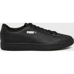 Puma - Buty Smash v2. Czarne buty sportowe męskie Puma, z gumy. W wyprzedaży za 215.92 zł.