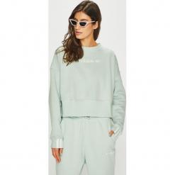 Adidas Originals - Bluza. Szare bluzy damskie adidas Originals, z bawełny. Za 249.90 zł.