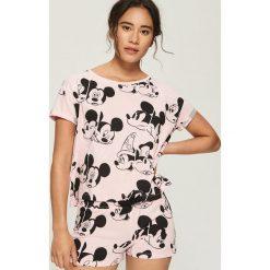 Dwuczęściowa piżama Mickey Mouse - Różowy. Piżamy damskie marki MAKE ME BIO. Za 49.99 zł.